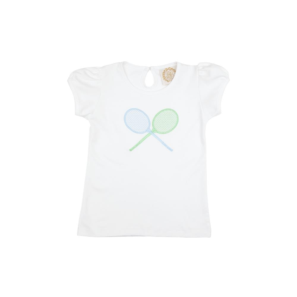 Penny's Play Shirt with Tennis Appliqué