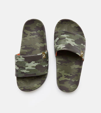 Poolside Slider Army Camo