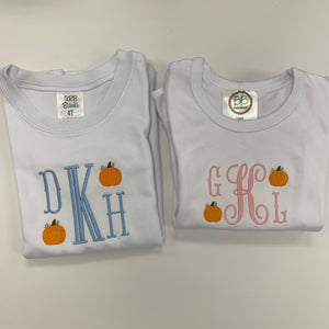 Monogram Pumpkin T-shirt