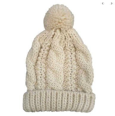 Natural Cable Hat