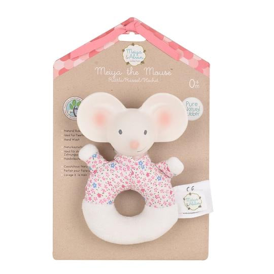 Meiya the Mouse Soft Rattle