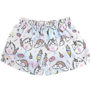 Caticorn Plush Shorts