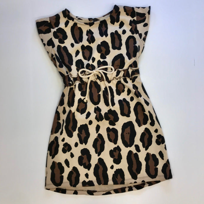 Leopard French Terry Dress