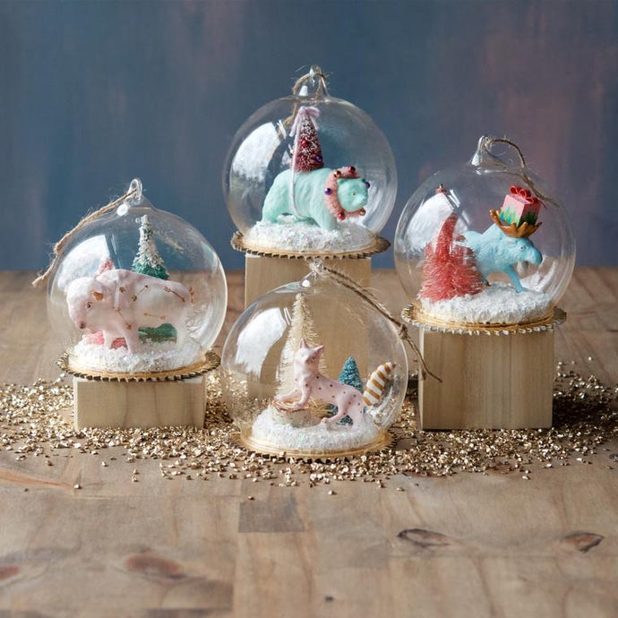 Woodland Dome Ornament