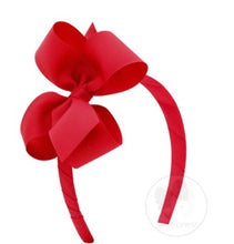 Medium Classic Grosgrain Bow on Headband