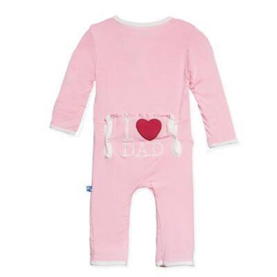 Holiday I LOVE DAD coverall