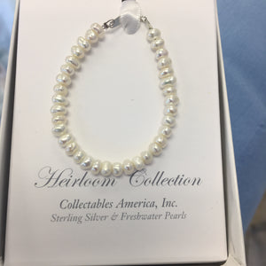 5in Fresh Water Pearl Bracelet