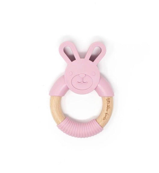 Bunny Teether (multiple colors)
