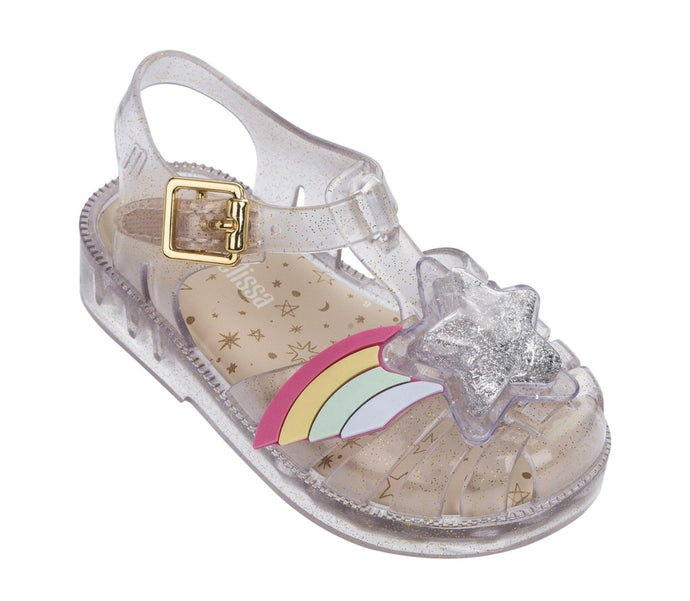 Mini Melissa Clear Rainbow/Star