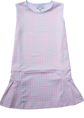 Penny Pink Gingham Tennis Dress