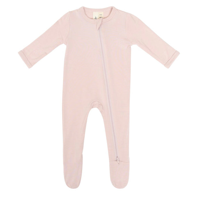 Kyte Blush Zipper, Footie
