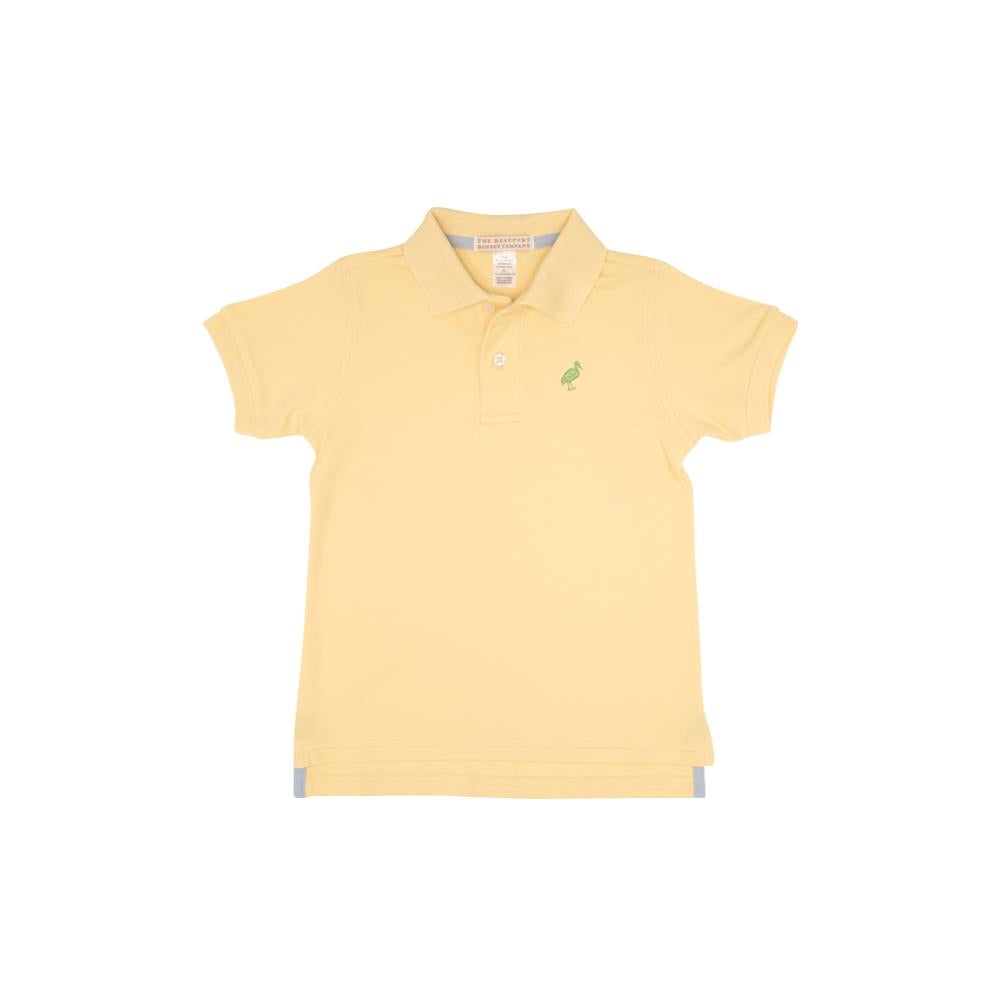 Prim and Proper Polo Seaside Sunny Yellow