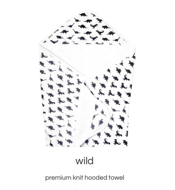 Wild Knit Hooded Towel