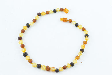 100% CERTIFIED BALTICAMBER Baby Necklace Raw