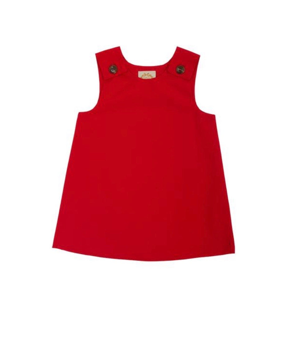 Juliet Jumper - Red Broadcloth