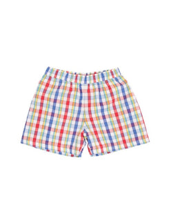 Shelton Shorts- Pinecrest Plaid