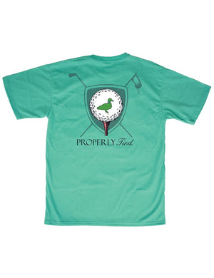 LD Tee Time Tee Soft Green
