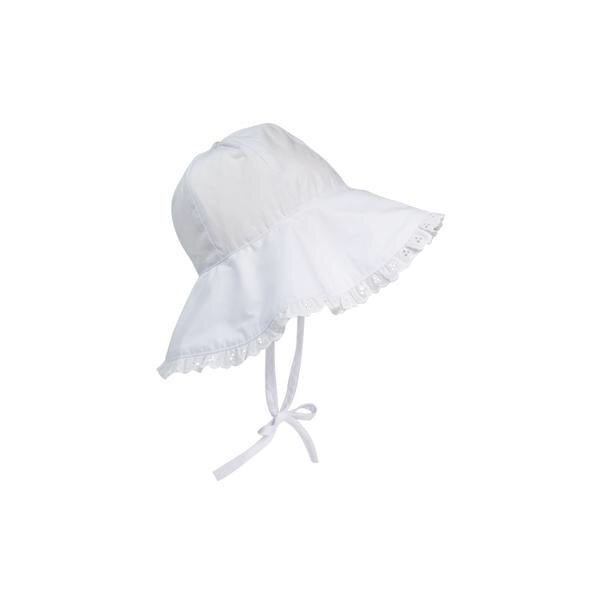 Cissy Sunhat Worth Ave White
