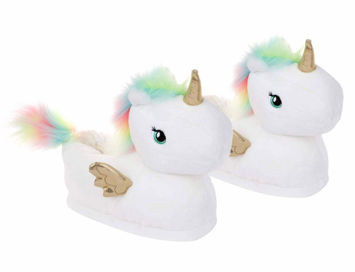 Unicorn Slippers Medium(12.5-3)