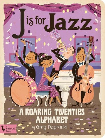 J is for Jazz Book
