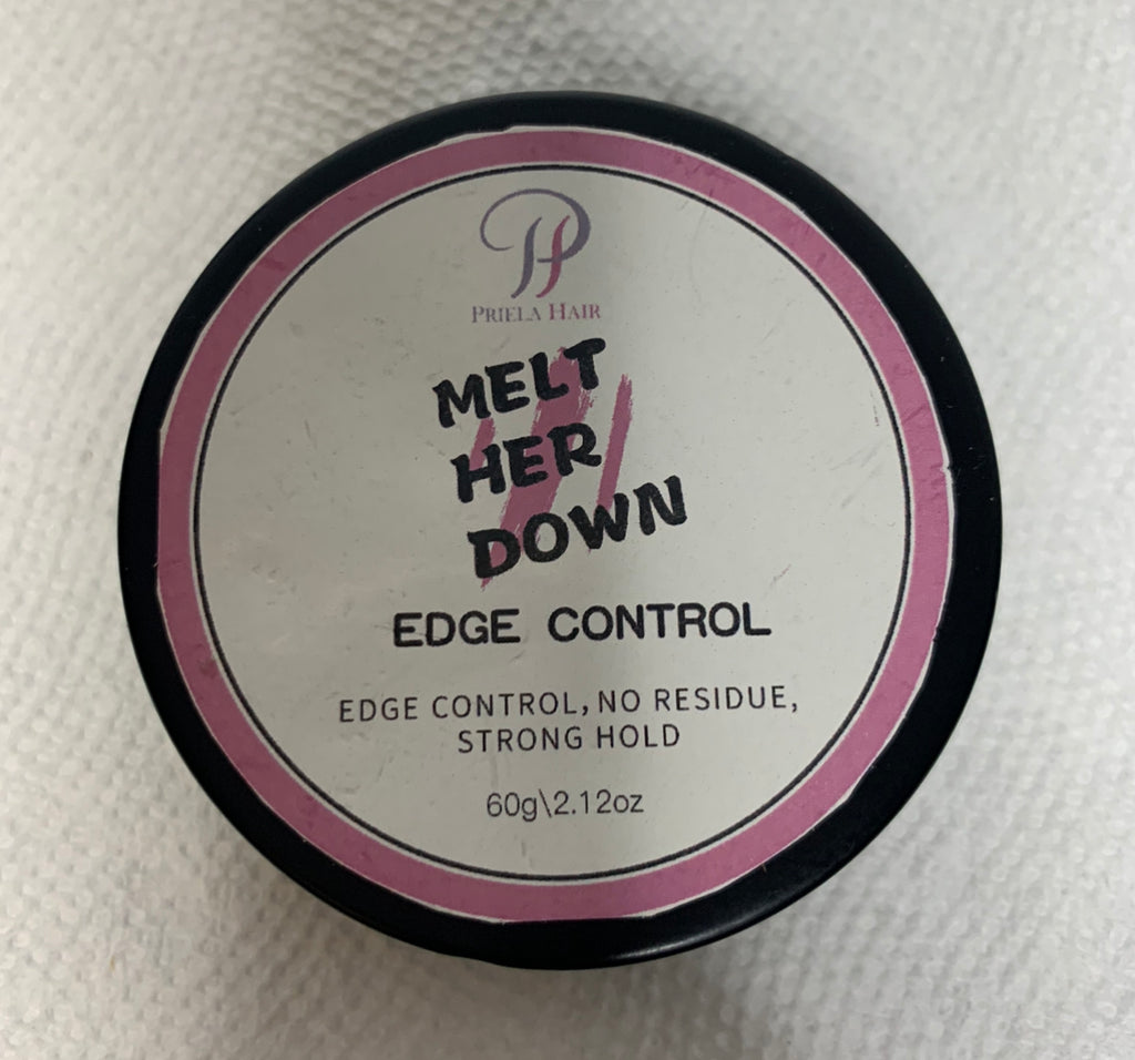 "MELT HER DOWN ""Strong Hold Edge Control"