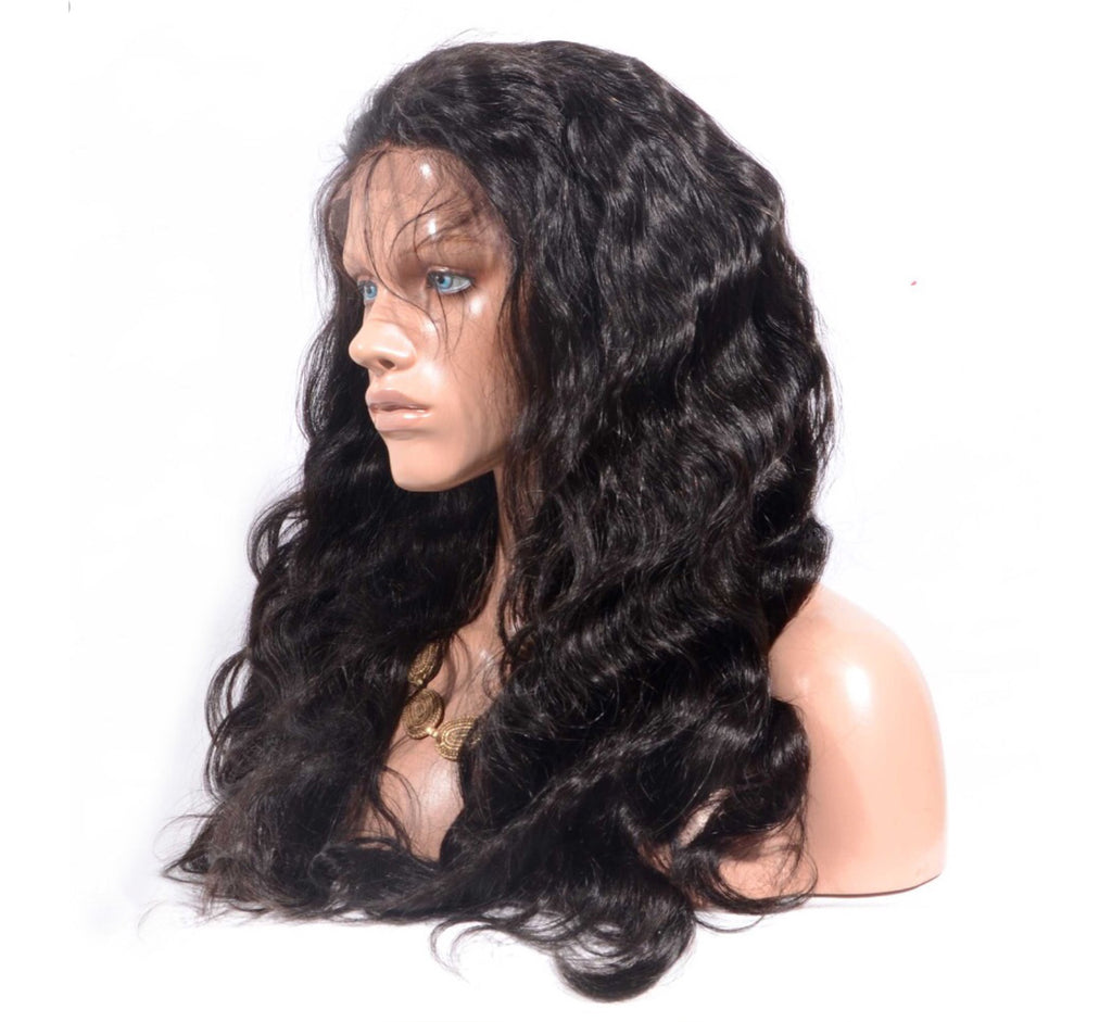 Transparent Cambodian Mink Full Lace Body Wave Wig