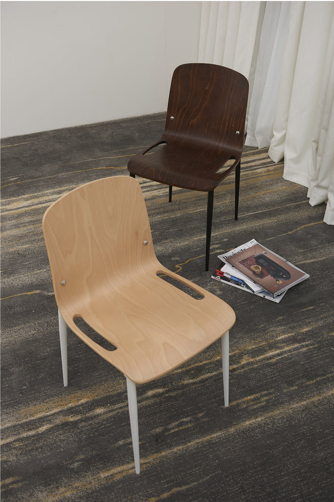 SILLA BAPTISTA DARK BROWN I OUTLET - 50% DCTO!