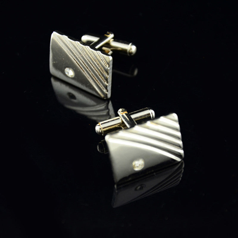 Diamond Stripe Cufflinks