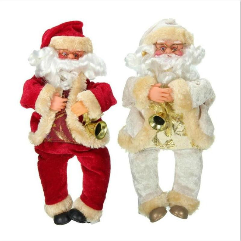 27cm Cute Christmas Santa Claus Doll Toy