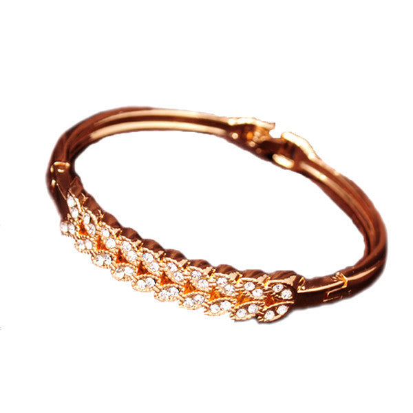 18K Beautiful Gold Plated Bracelet