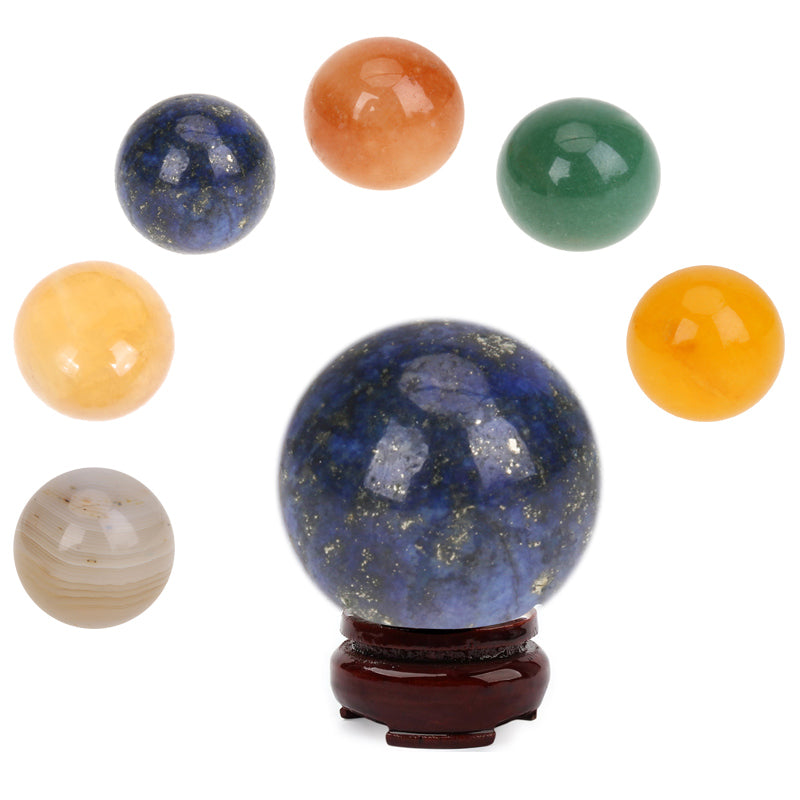 Healing Sphere Large Natural Crystal Yellow Agate Crystal Ball  Feishui Stone Desktop DIY