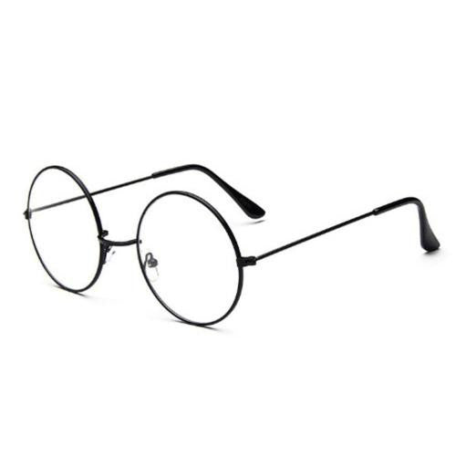 Unisex  Round Circle Clear Eye Glasses