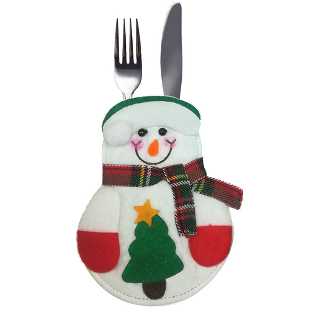 Christmas Fork & Knife Pocket