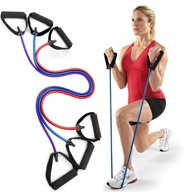 Exercise Latex Resistance Bands, Pilates,   Random Color