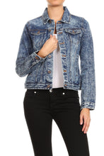 Load image into Gallery viewer, THE ROUTE 66 DENIM JACKET