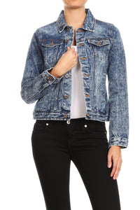 THE ROUTE 66 DENIM JACKET