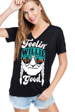 Load image into Gallery viewer, THE FEELIN' WILLIE GOOD GRAPHIC TEE