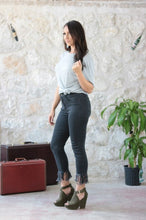 Load image into Gallery viewer, THE MISS MOLLY BLACK DENIM