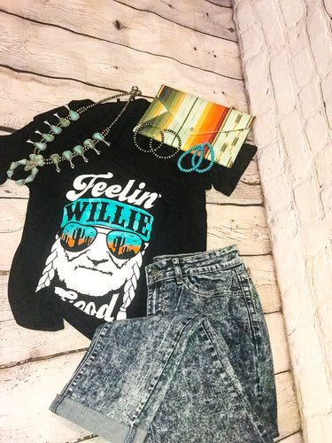 THE FEELIN' WILLIE GOOD GRAPHIC TEE
