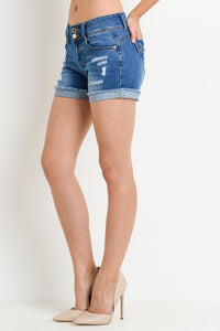 THE GET LIFTED DENIM SHORTS