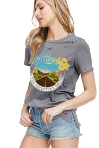 THE WANDERLUST GRAPHIC TEE