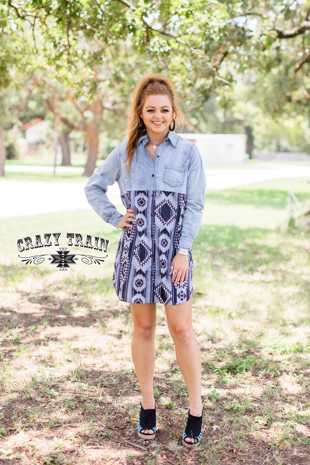 THE BUCKIN CHUTE DRESS