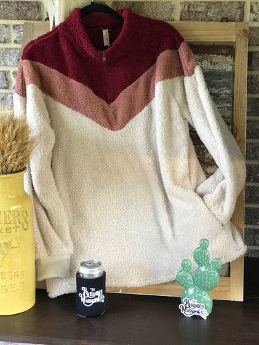 THE RETRO FUZZY PULLOVER