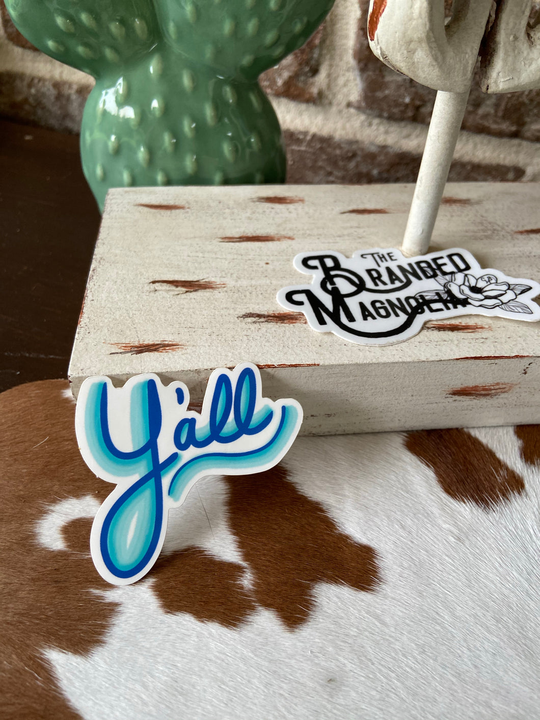 THE Y'ALL STICKER