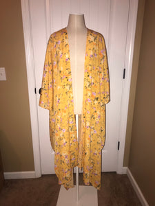 THE YELLOW ROSE DUSTER