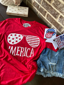 THE 'MERICA GRAPHIC TEE