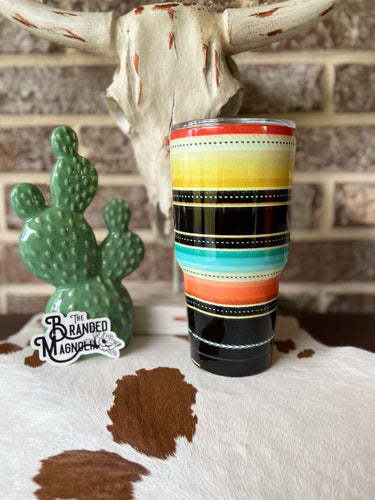 THE BLACK SERAPE TUMBLER