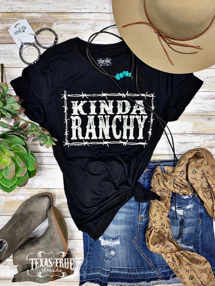 THE KINDA RANCHY GRAPHIC TEE