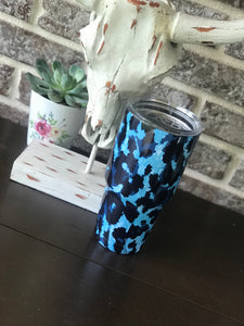 THE BLUE LEOPARD TUMBLER