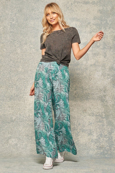 A Pair Of Paisley-print Pants